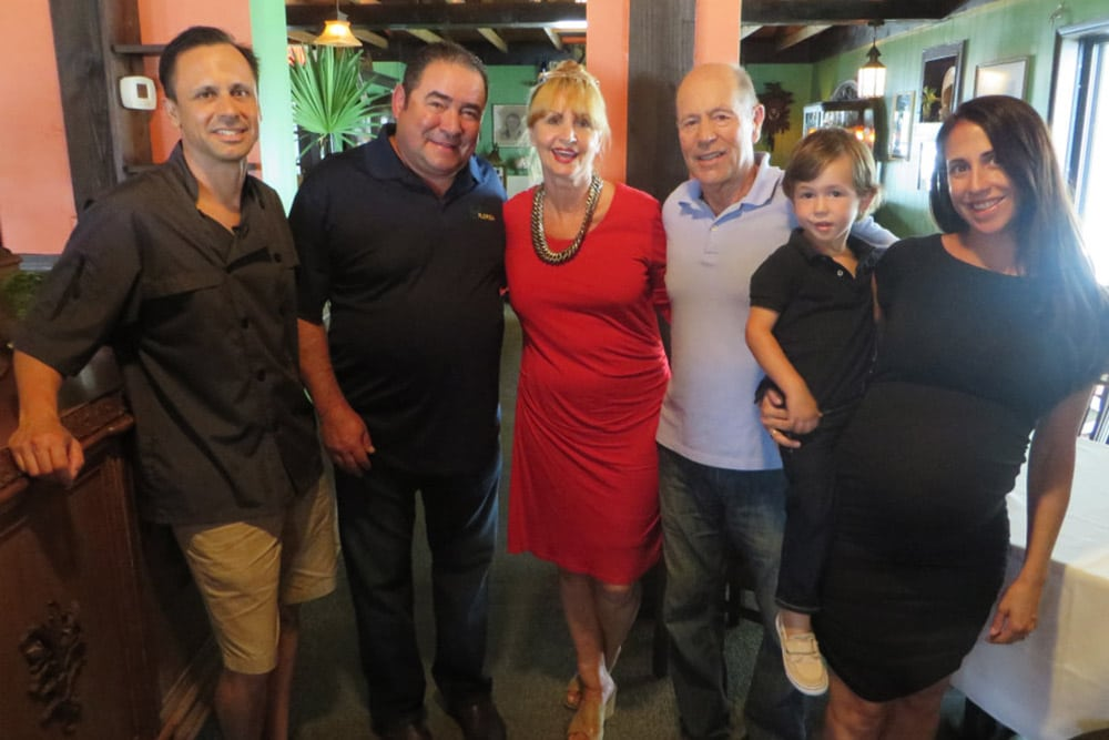 Café Coconut Cove dinner guest Emeril Lagasse