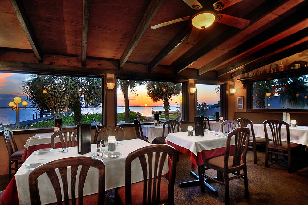 Enjoy Café Coconut Cove's Beautiful Sunsets